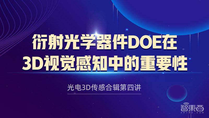 天津驭光科技总经理朱庆峰:衍射光学器件DOE在3D视觉感知中的重要性|公开课预告