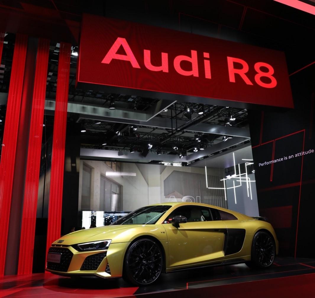 奥迪R8全新车型中国首秀杀入市场,或触发超跑市场新一轮竞争图片