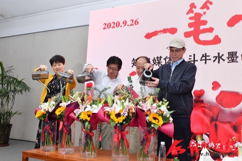 知名媒体摄影人斗牛在合肥久留米美术馆办画展