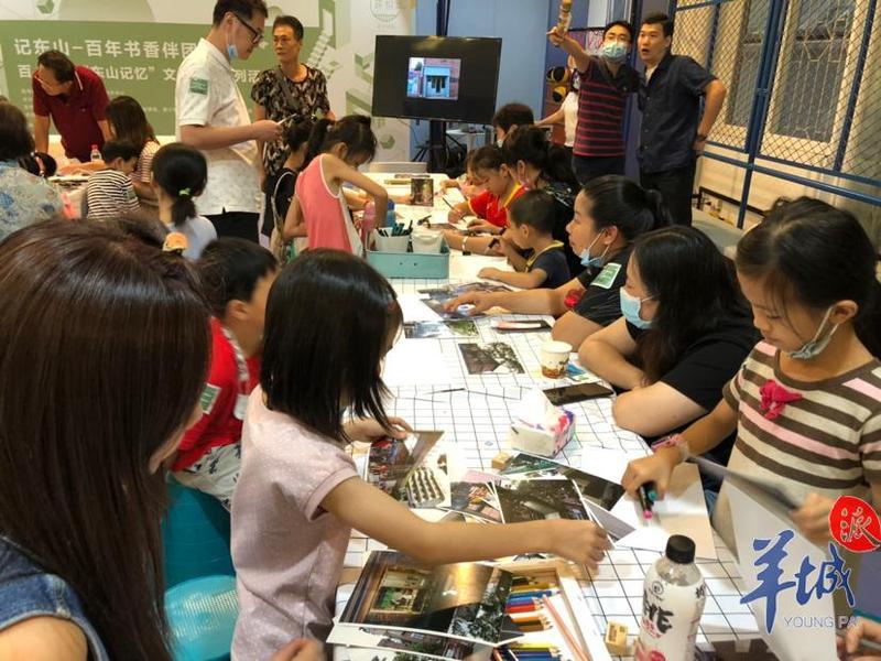 传承东山文化,近百位家长与萌娃手绘东山地图