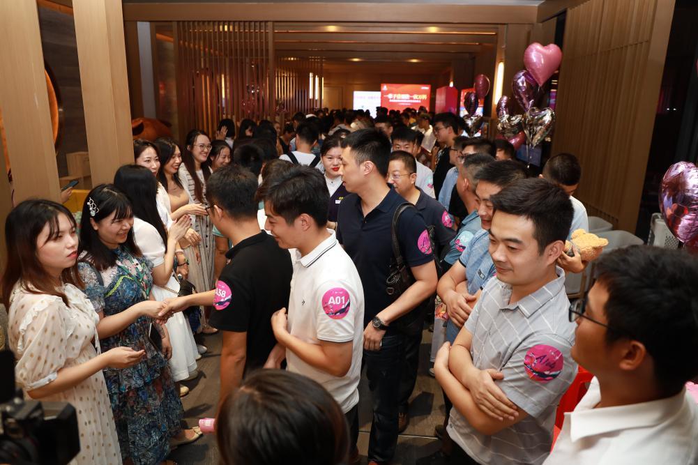 南宁市举行机关企事业单位单身职工联谊活动  第二场联谊活动将于10月17日举行
