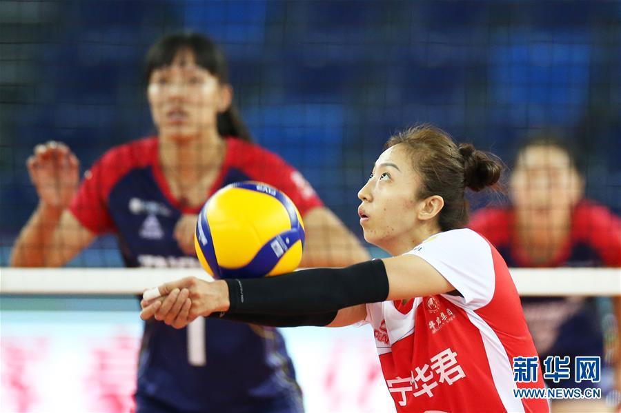 全国女排锦标赛:辽宁胜四川
