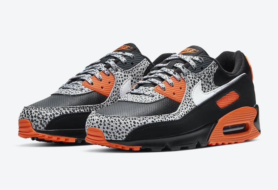 "骚气十足的经典配色!Nike Air Max 90 ""Safari"" 即将发售!"