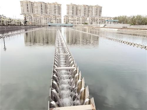 沛县140多万老人饮用清澈甘甜的自来水
