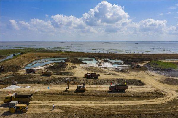 泗洪:加快洪泽湖生态修复