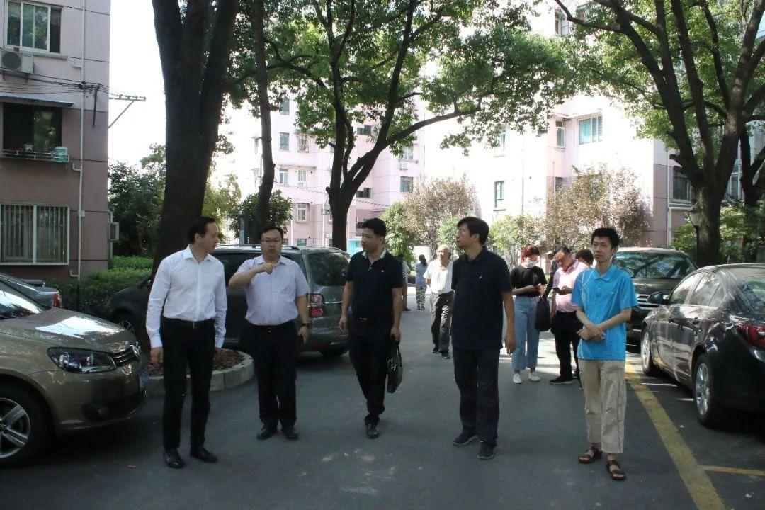 中国社科院课题组赴长宁区专题调研市域社会治理现代化推进情况