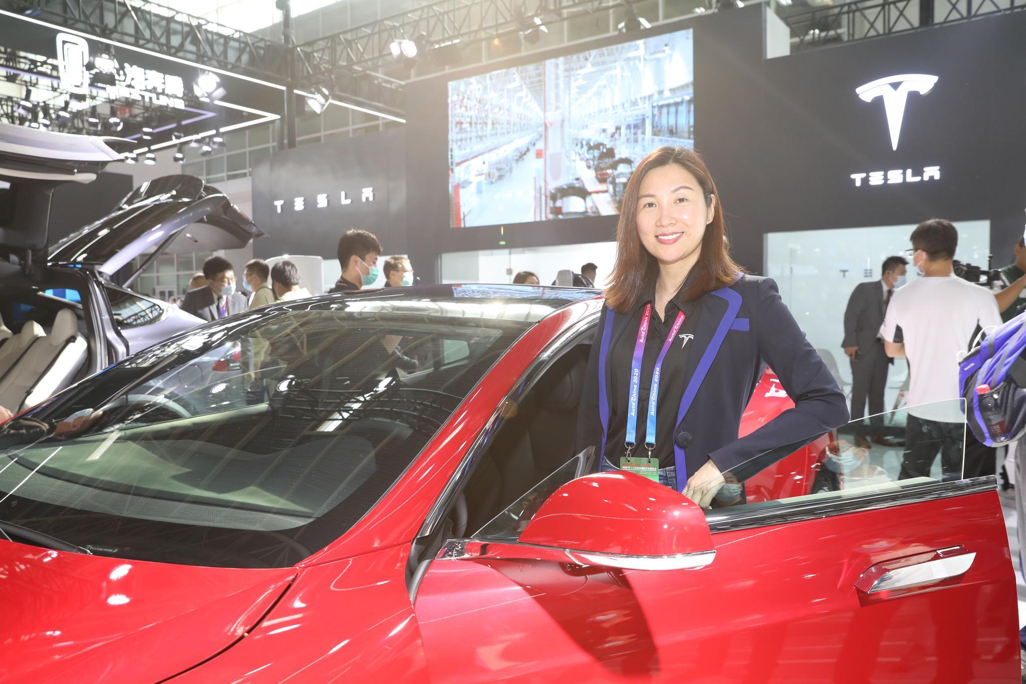 对话②|专访特斯拉副总裁陶琳:纯电动和智能化是车展的趋势图片