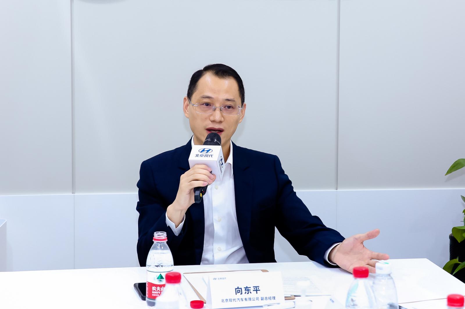 对话|北京现代向东平:技术转型 加速HSMART+战略实施图片