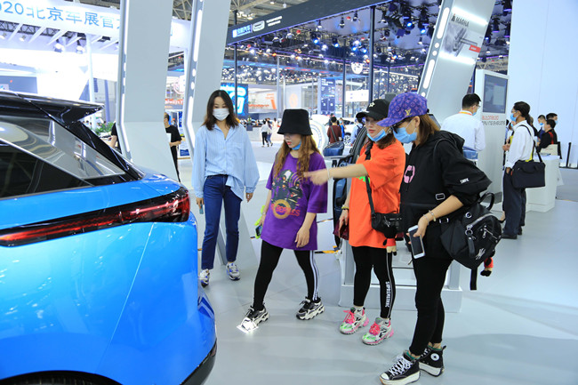 一数科技携手一汽奔腾E01车型首次亮相北京车展