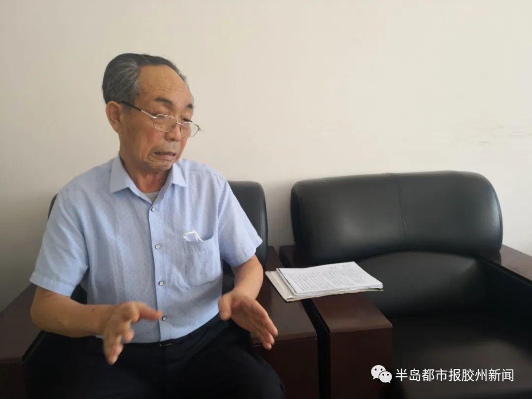 胶州老人实名举报!法院判给他的土地被村委会