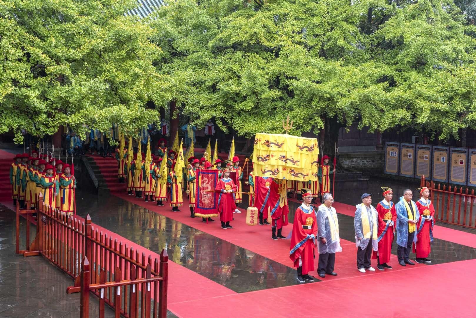 祭孔大典、诗会、展览 这个国庆来崇州文庙享传统文化盛宴