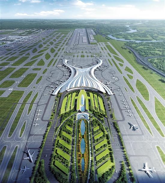 """广州白云国际机场三期扩建工程开工 成为推动广东民航高质量发展""""新引擎"""""""