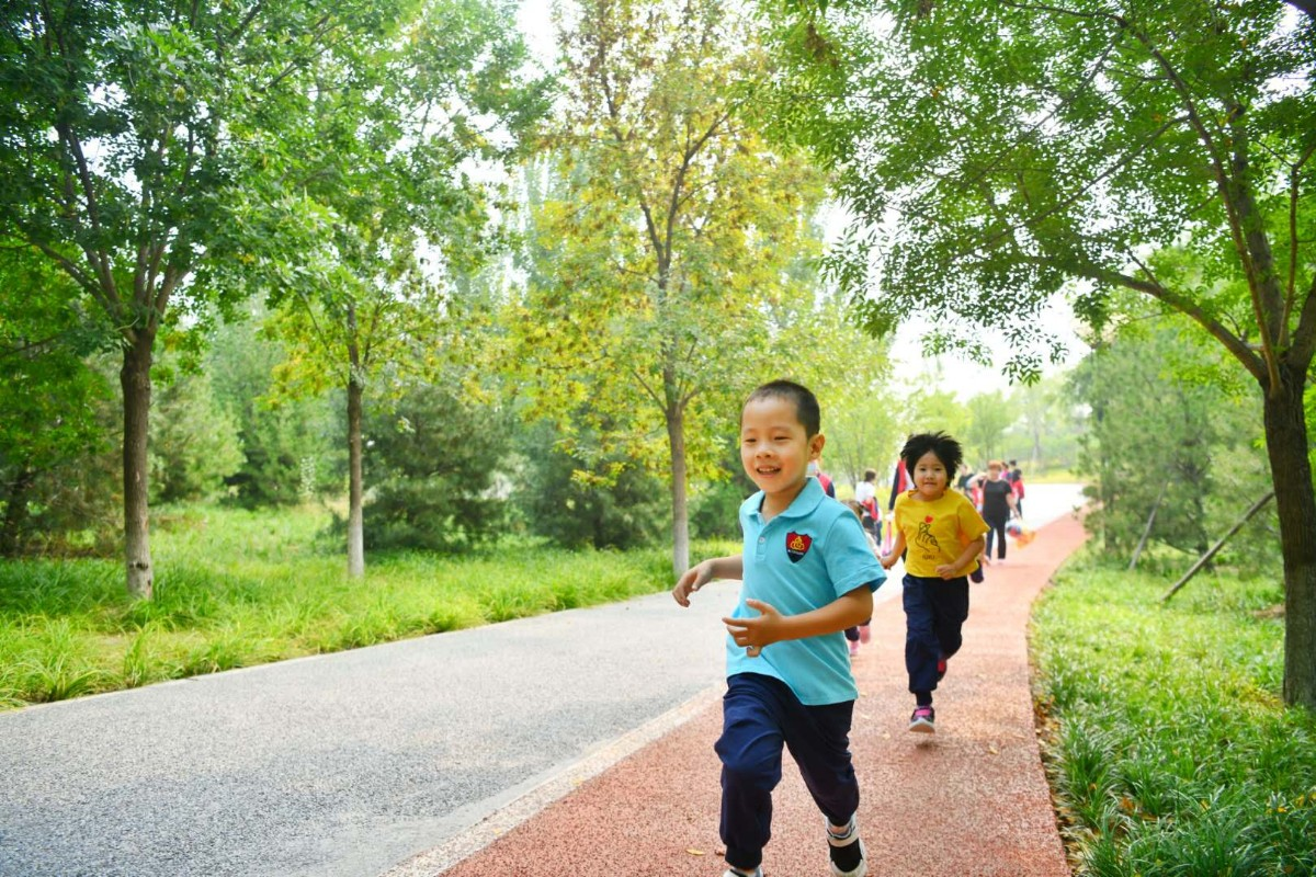 """朝来森林公园三期今开园,来广营未来有个""""颐和园"""""""