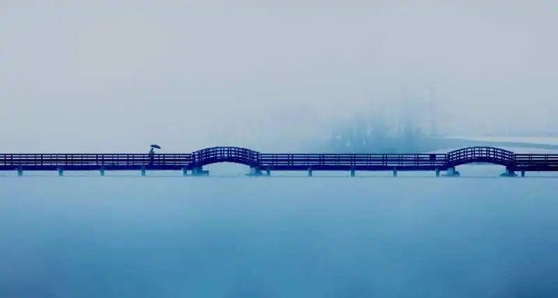"""""""双节""""假期,行至南天湖,赏水天一色图片"""