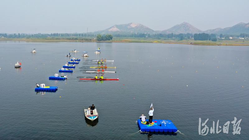 2020年河北省青少年赛艇皮划艇锦标赛开赛