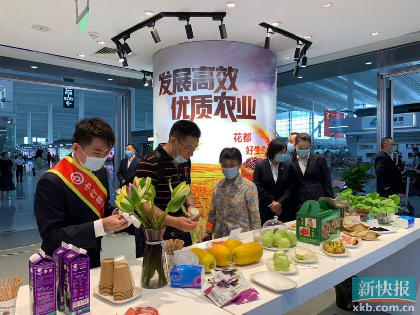 <strong>花都帮助农民在白云机场销售自己产品的</strong>