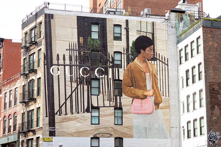 今日消费资讯:GUCCI 带来 Jackie 1961 手袋艺术墙、Gap 在龙湖成都上城天街开出全新概念店