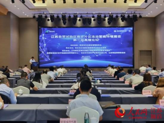 江苏自贸区南京片区知识产权法律保护联盟成立