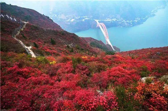 行到巫山 风景正好