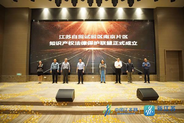 升级知识产权保护模式 自贸南京片区成立知识产权法律保护联盟