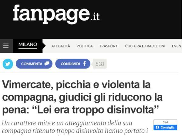 意大利 63 岁男子监禁、强奸、殴打伴侣一晚,最后法院竟给他减刑