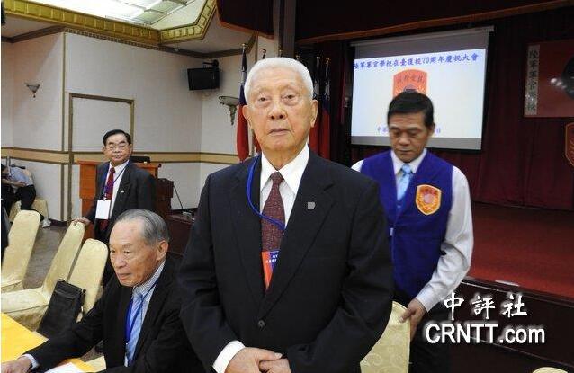 89岁台陆军前总司令飙骂蔡英文:无知、无智、无耻图片
