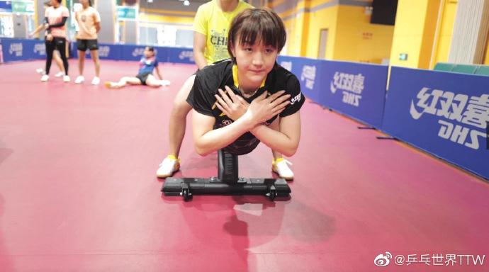 马龙等国乒队员已通过体能测试 备战全国锦标赛图片