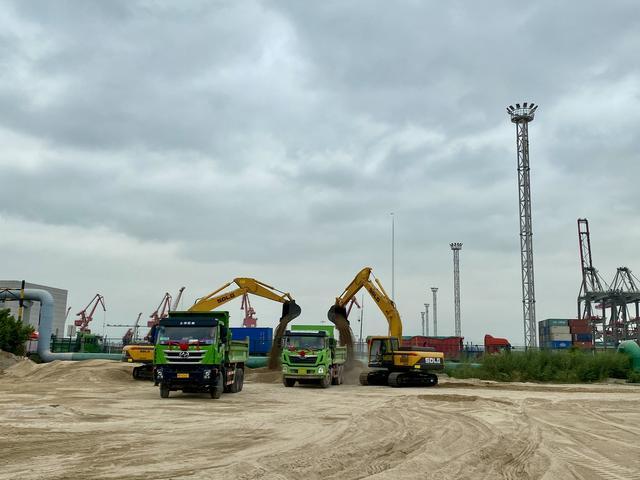 厦门远海码头路专线开始解决港口集疏运