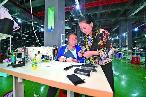 从江县为了让易地扶贫搬迁群众能够安居乐业