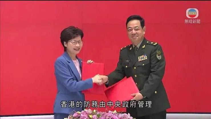 """军舰在香港的""""新家"""",在驻港部队海军基地对岸图片"""