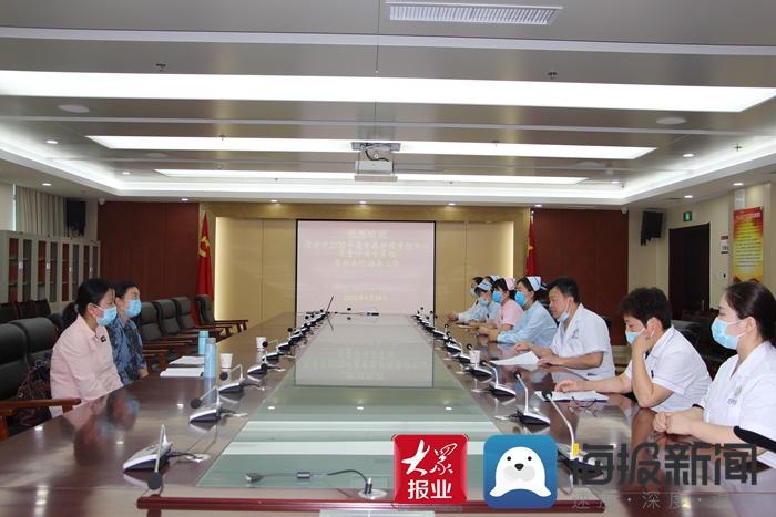 市中医护理质控中心质量评估专家组到曹县中医院开展质量评估检查
