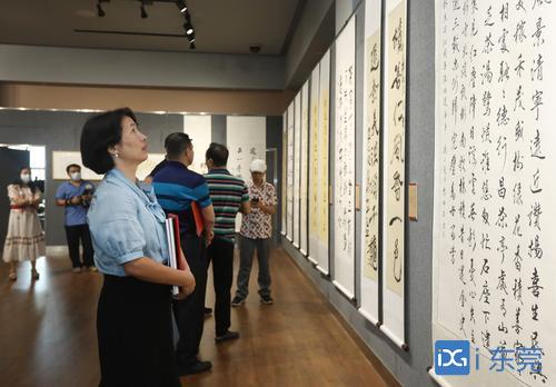 """国庆假期去东城展览馆看展!""""还金亭杯""""诗联书法作品展开展"""