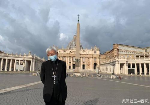 """香港""""政治主教""""就主教继任人一事去了梵蒂冈,但没有获得接见"""