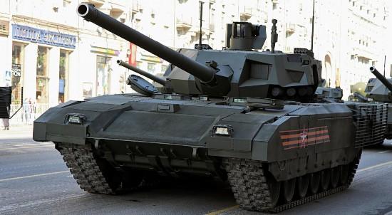 """俄罗斯军校将专门为""""阿玛塔""""新型坦克招募学员"""