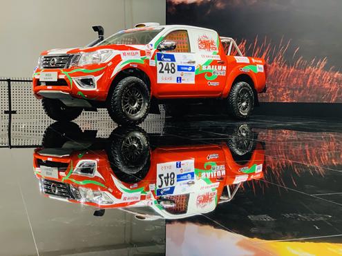 携双品牌车型亮相北京车展 郑州日产倡导全新皮卡生活