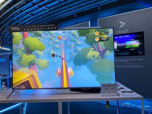 腾讯START云游戏携手TCL亮相BIGC 2020,准独角兽雷鸟科技探索大屏新场景