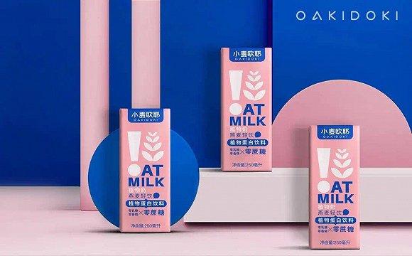 """植物奶前景无限?国货品牌""""小麦欧耶""""拿到千万级投资"""