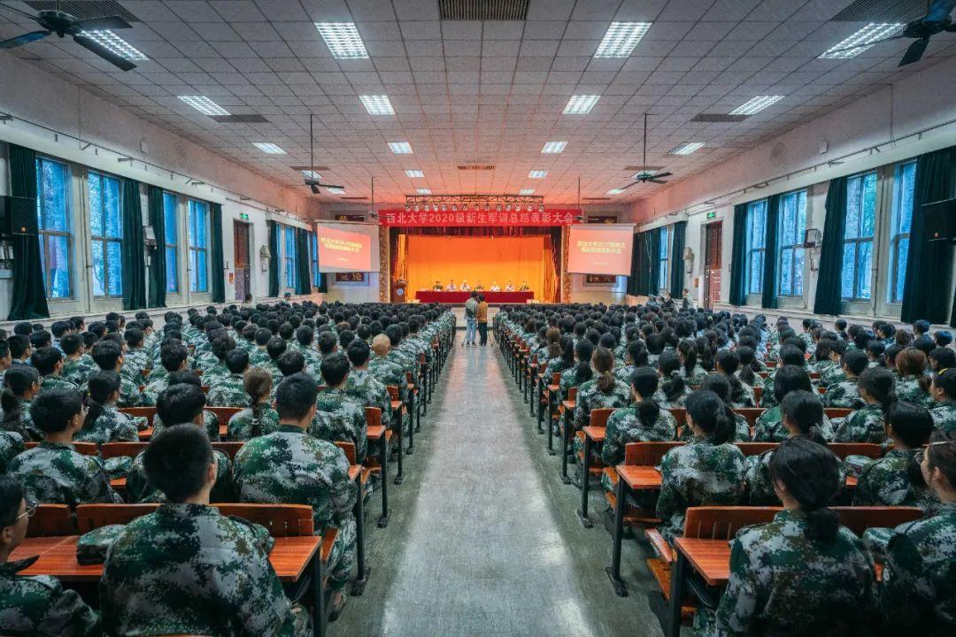 NWU军训总结表彰 | 荣光时刻,专属于你!(内附精彩漫画~)图片