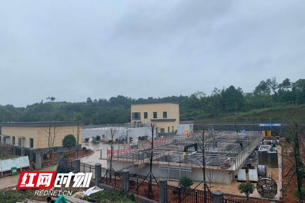 聚力体育频道直播:邵阳县乡镇污水处理及处罚设施建设项目投产