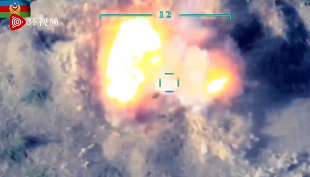 激战视频流出!坦克和军车被摧毁瞬间图片