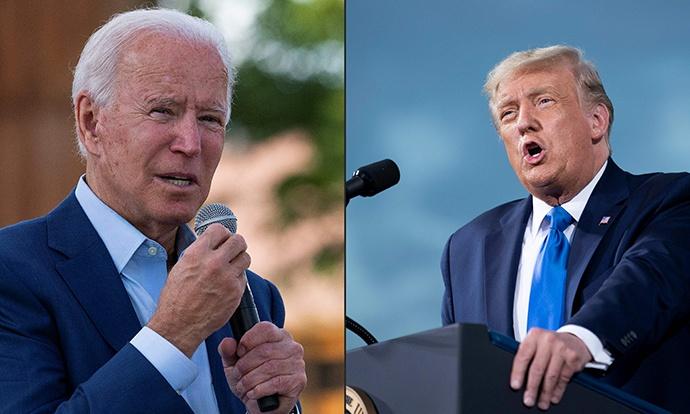 美国2020年总统大选两党候选人首场辩论正式开始