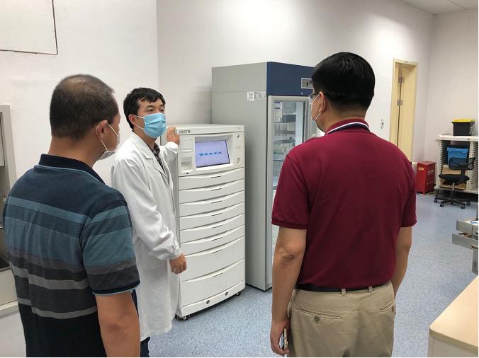 【禁毒新闻】浦锦街道检查了仁济南院和五官科医院浦江院区的药品使用