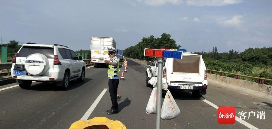 澄迈交警开展节前交通安全整治 1个月查处7396起违法行为