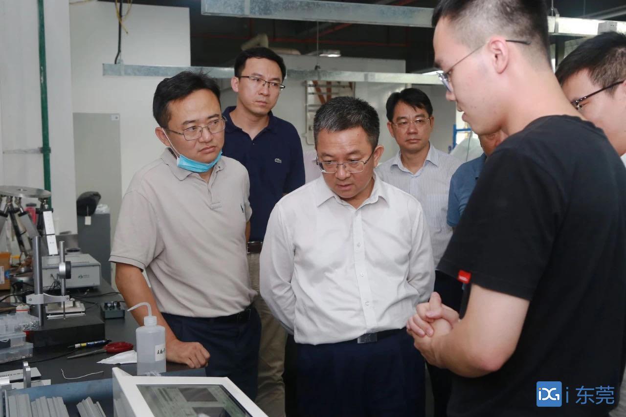 """松山湖:开展园区新型研发机构安全生产检查,确保""""双节""""期间安全生产"""