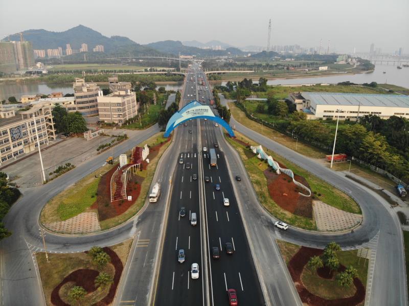 广州南沙大道升级改造工程通过验收