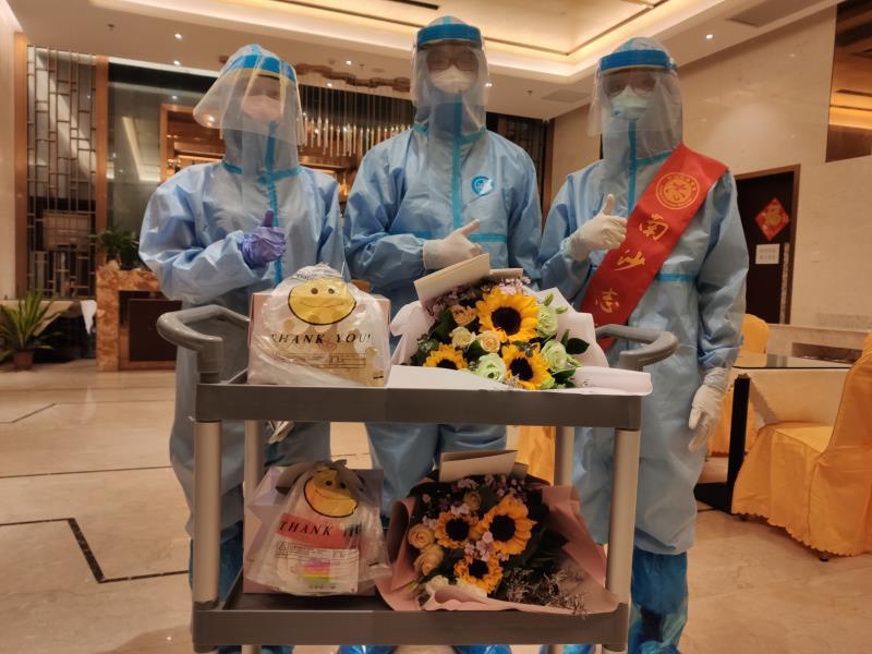 广州南沙青年志愿者抗疫累计服务时长超13万小时