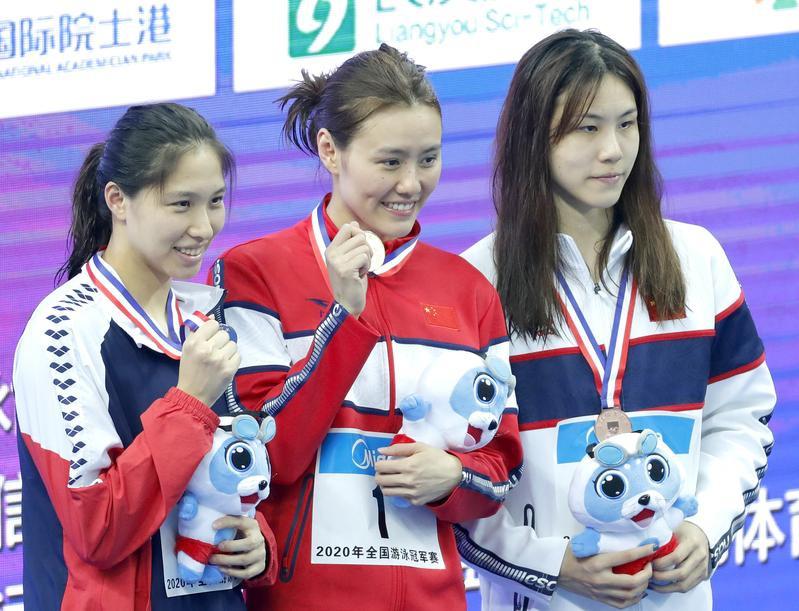 【全国游泳冠军赛】刘湘夺得女子50米自由泳冠军