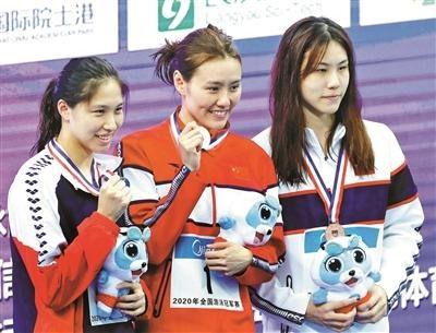 体测和50米自由泳第一全到手 刘湘一枝独秀
