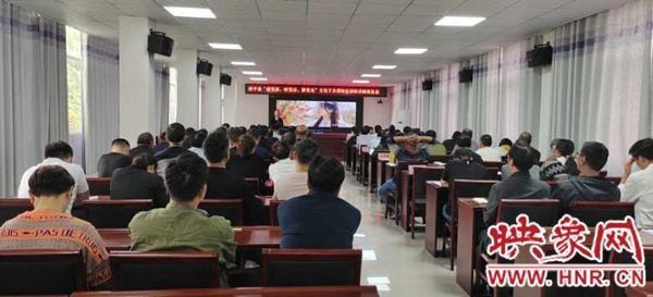 西平县师灵镇召开主题宣讲报告会