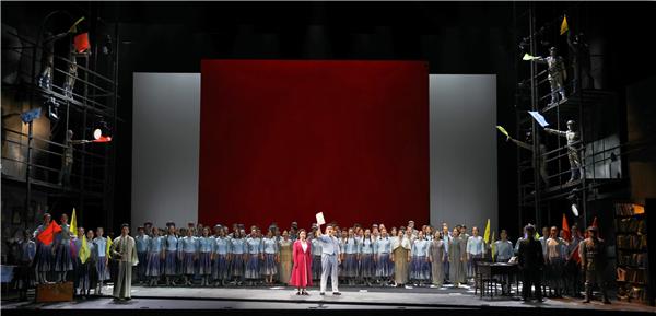 原创歌剧《田汉》国庆首演,拉开上海歌剧院新演出季帷幕